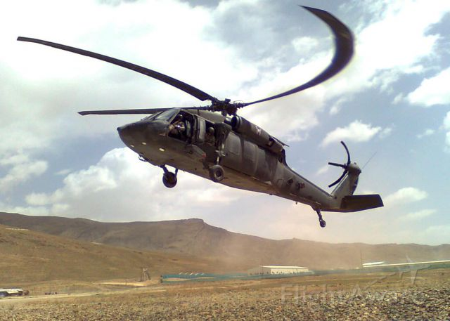 Sikorsky S-70 — - Outside FOB Lightening in Afghanistan.  This was my ride to FOB Tillman