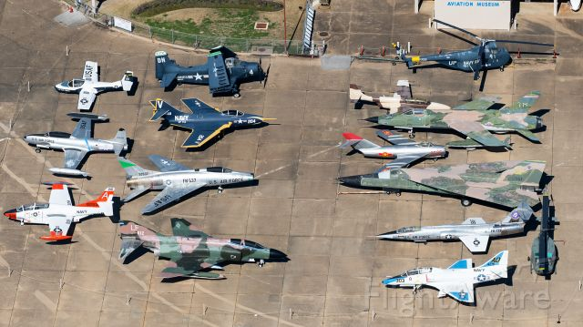 — — - The fantastic assortment of military aviation at Tyler's Historic Aviation Memorial Museum in East Texas.