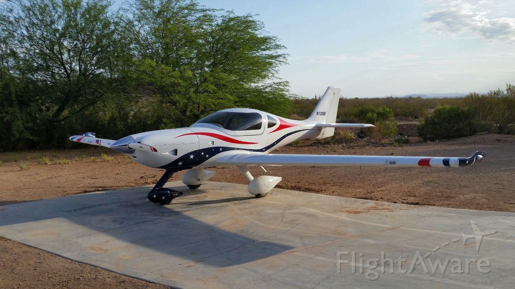 Experimental 100kts-200kts (N120EB) - Lightning kit  LSA