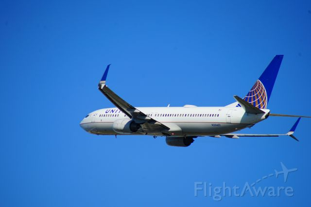 Boeing 737-900 (N30401) - This is a United Airlines MAX jet taking off from Miami International Airport.