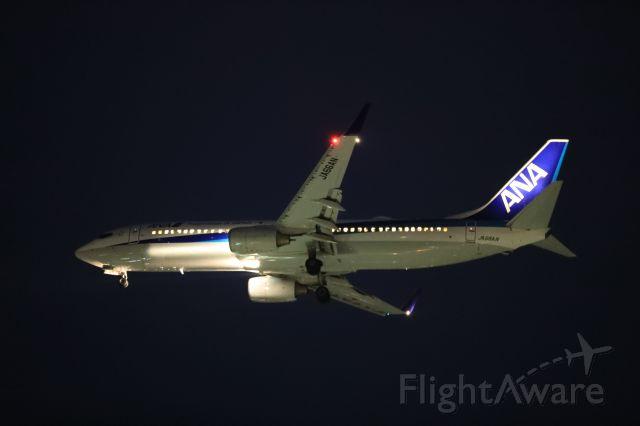 Boeing 737-800 (JA66AN) - March 27th 2020:HND-HKD.