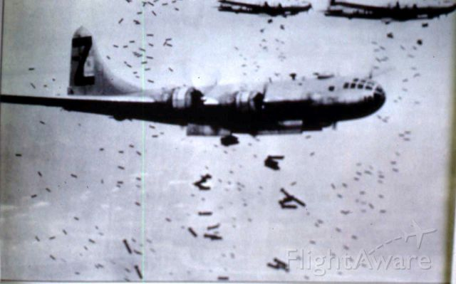 Boeing B-29 Superfortress — - Live drop on the Empire of Japan