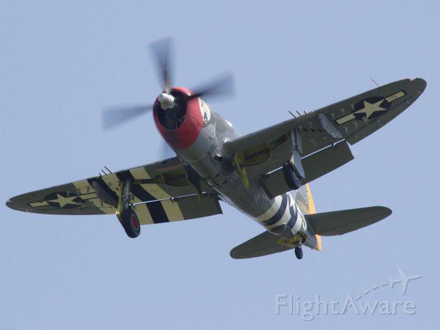 "REPUBLIC Thunderbolt (N47DA) - P-47 ""Hairless Joe""<br />Thunder Over Michigan Air Show, 2007"