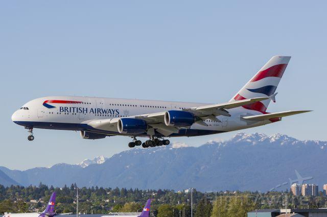 Airbus A380-800 (G-XLEJ) - BA