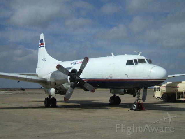 CONVAIR CV-580 (TSU191) - Convair 580