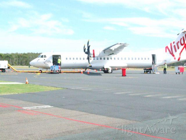 VH-FVM — - Woolamai Beach being prepared for take off...
