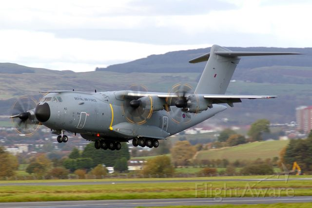 AIRBUS A-400M Atlas (MBB412) - On a training sortie, and about to do a touch-and-go.