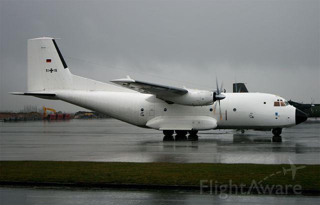 TRANSALL C-160 (N5115) - LTG-61 C-160D 5115 visiting LTG-62 at Wunstorf