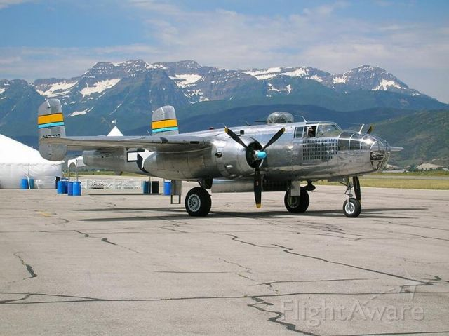 North American TB-25 Mitchell — - Heber City, Utah