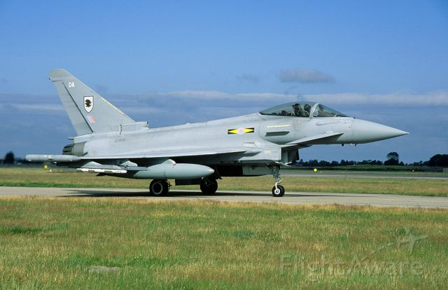 ZJ931 — - RAF Typhoon F.2 ZJ-931 is assigned to no. 11 sqn