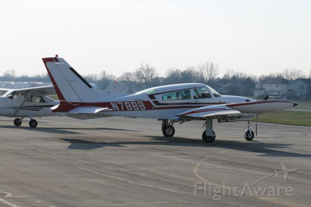 Cessna 310 (N78BB) - On the ramp
