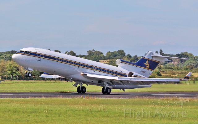 BOEING 727-200 (HZ-AB3) - al anwa aviation b727-2u5(re)wl hz-ab3 dep shannon 15/8/16.