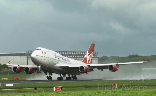 Boeing 747-400 (G-VWOW)