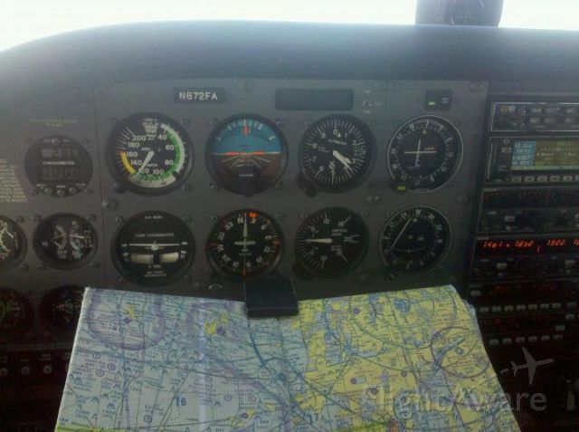 Cessna Skyhawk (N872FA) - Flying in the Chicagoland area.