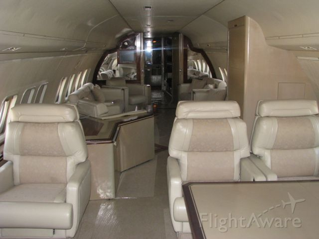 British Aerospace BAC-111 One-Eleven (N200EE) - Luxury interior of Select Leasing