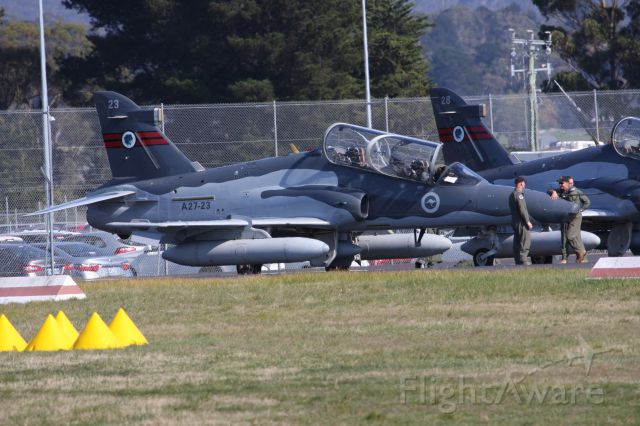 A2723 — - RAAF British Aerospace Hawk 127 at Hobart Airport Tasmania