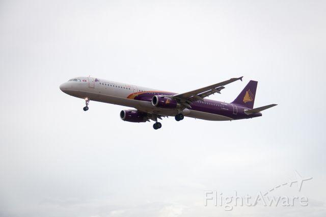 Airbus A321 (XU350) - Landing