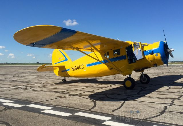 N164UC — - A classic bush plane graces the FAA ramp.