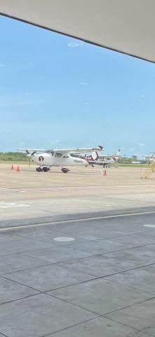 Cessna Skyhawk (V3-HHY) - Tropic Air Belize April 9,2021 at Philip S.W. Goldson International airport Belize.