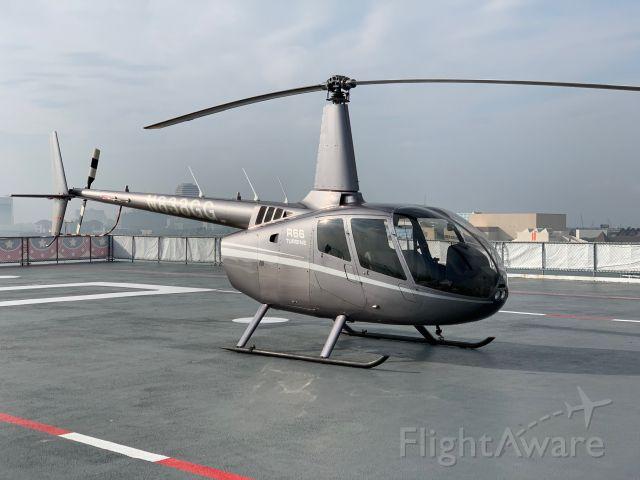 Robinson R-66 (N838GG) - Landing on the Lexington