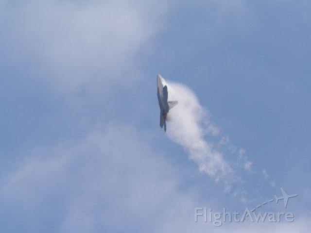 Lockheed F-22 Raptor — - Offutt Airshow 2014