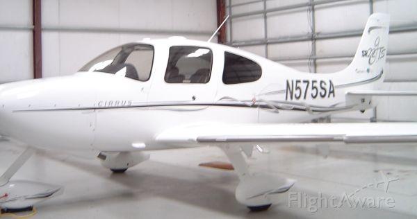 Cirrus SR-22 (N575SA) - In the hangar