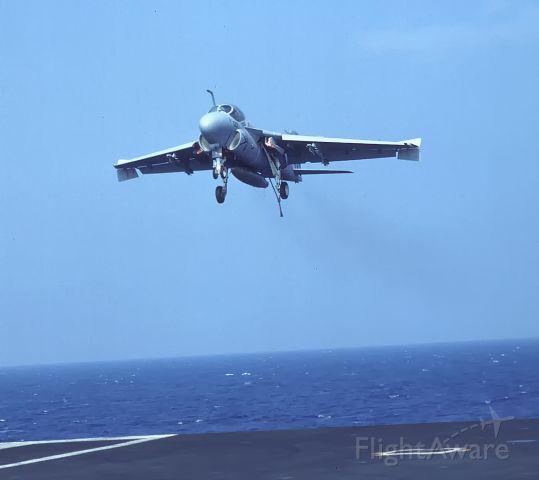 15-5653 — - Intruder Coming aboard USS George Washington 9-10-1993