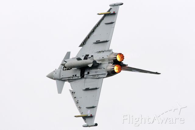 — — - 2012 Farnborough Airshow Eurofighter Typhoon.