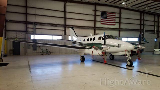 Beechcraft King Air 90 (N828NC)