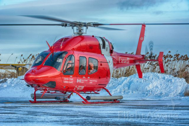 C-GCQB — - During a refueling stop in CYHU. 19-12-2019