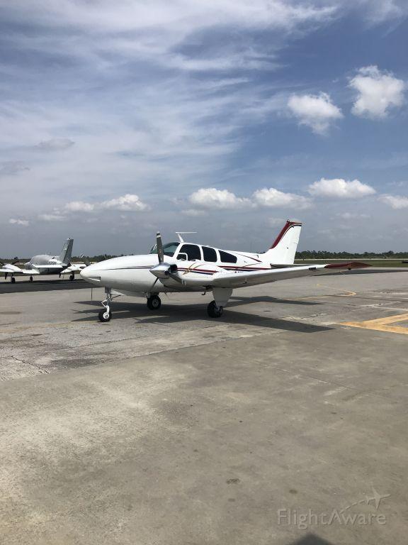 Beechcraft 55 Baron (N7781R) - April 2020