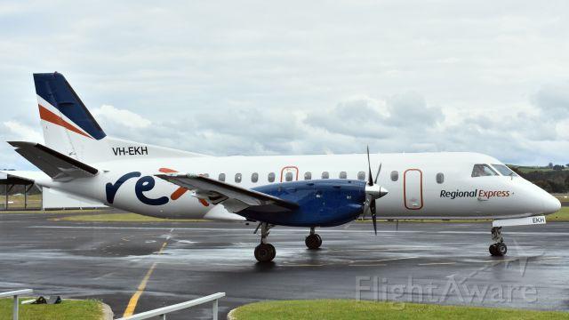 Saab 340 (VH-EKH) - Regional Express SAAB 340B VH-EKH (cn 369) at Wynyard Airport Tasmania 27 October 2019.