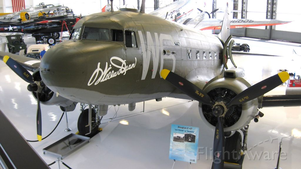Douglas DC-3 (N791HH) - Douglas C-47 Willa Dean at new Lyon Air Museum