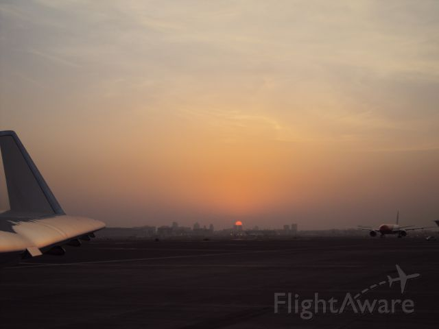 Gulfstream Aerospace Gulfstream IV (N450MB) - Sunset....!  at Dubai International Airport.