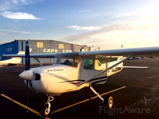 Cessna Commuter (C-GLZP) - CYMX-KBTV-KCON-KACK-KHYA<br />Photograph/Pilot: Vincenzo Testaguzza