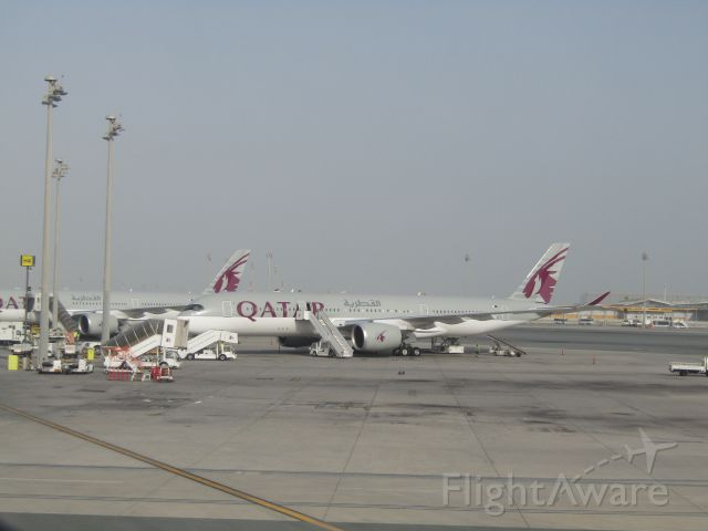 Airbus A350-900 (A7-ALF) - I was lucky to see two beautiful Qatar Airways A350