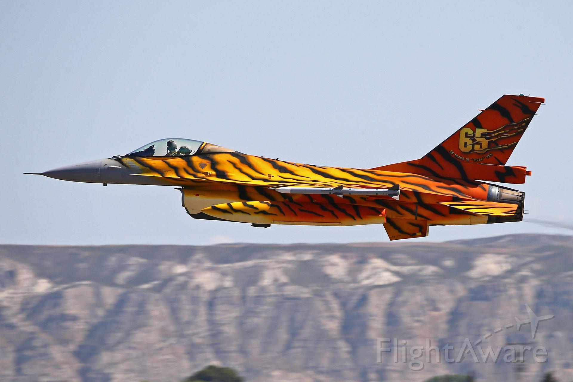 Lockheed F-16 Fighting Falcon — - NATO Tiger Meet 2016  Zaragoza, Spain