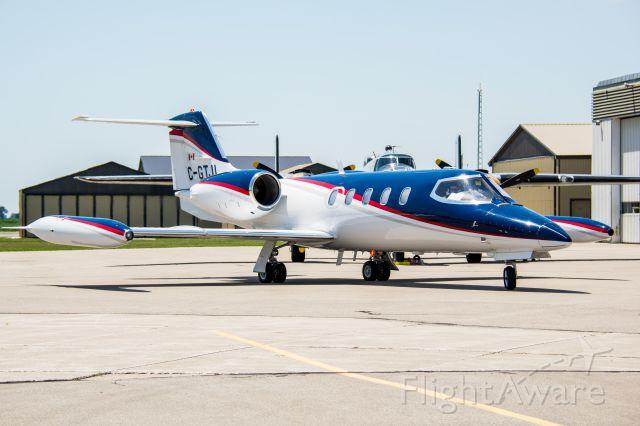 Learjet 35 (C-GTJL) - Patient transfer during Chatham-Kent Flight Fest 2016.
