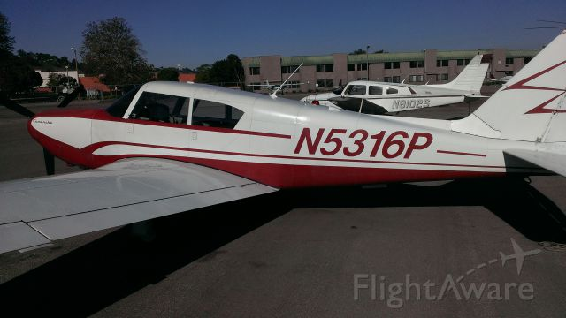 Piper PA-24 Comanche (N5316P) - Torrance Airport