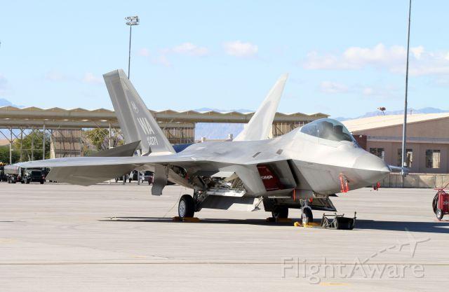 Lockheed F-22 Raptor (04071) - F22 at Nellis AFB Aviation Nation 2012
