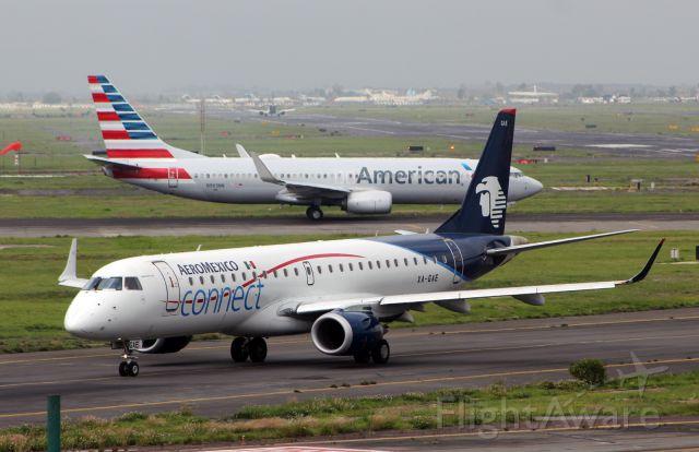 Embraer ERJ-190 (XA-GAE) - AeroMexico Connect / Embraer ERJ-190LR - MSN 664 / XA-GAE / MMMX 07/2019