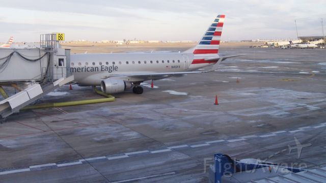 Embraer ERJ 175 (N410YX) - American Eagle at Indianapolis International Airport<br />12/25/17 Gate B6  Bound for Miami Intl .