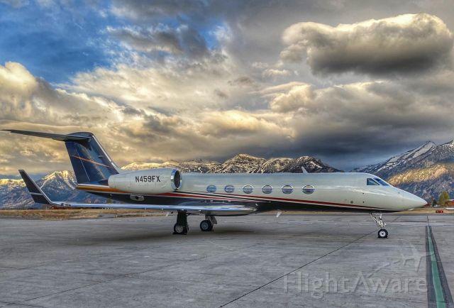 Gulfstream Aerospace Gulfstream IV (N459FX) - View from KJAC Ramp!