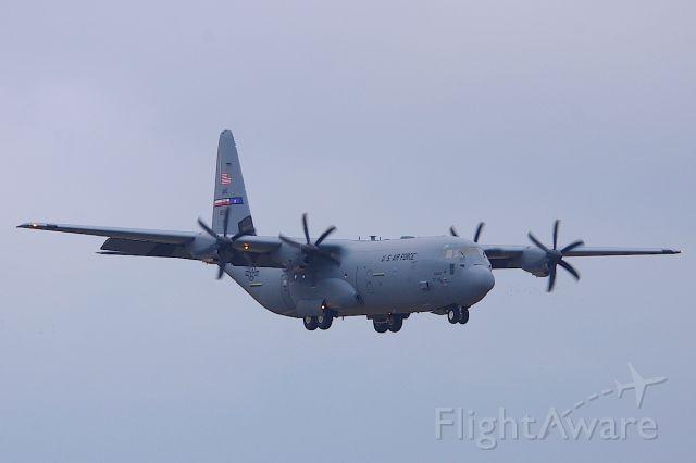 Lockheed C-130 Hercules — - Texas ANG, arriving for the Daytona 500.