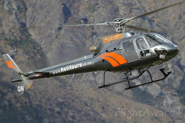 Eurocopter AS-350 AStar (ZK-HQN) - Helitours