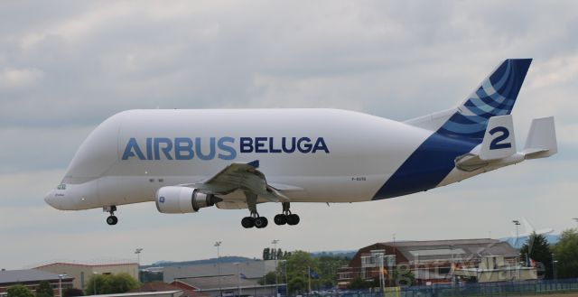 Airbus A300F4-600 (F-GSTB) - HAWARDEN AIRPORT UK