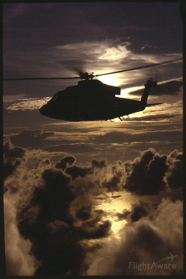 N3124G — - Air to air of Sikorsky demonstrator S-76B, shot off of Jupiter Beach Inlet, Florida.