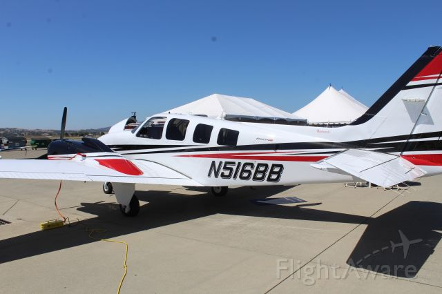 Beechcraft Baron (58) (N516BB)