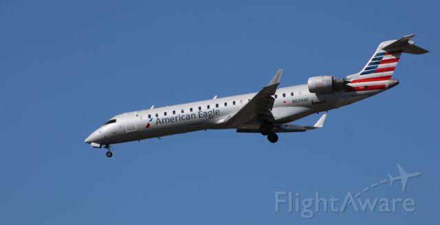 Canadair Regional Jet CRJ-200 (N534AE) - On final is this 2010 American Eagle Canadair Regional Jet CRJ-702ER in the Winter of 2020.