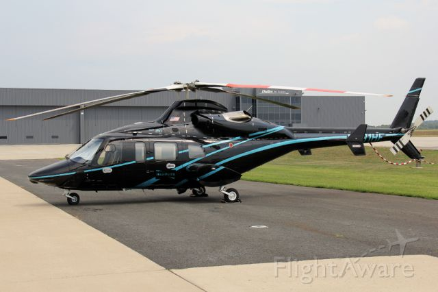 Bell 430 (N431HF) - Sitting on the ramp at IAD before heading back to the 34th Street heliport in NYC.